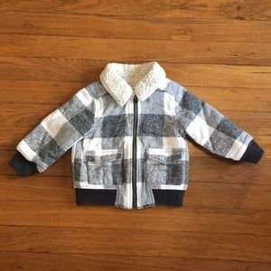 18-24 Months Old Navy Fleece Lined Jacket